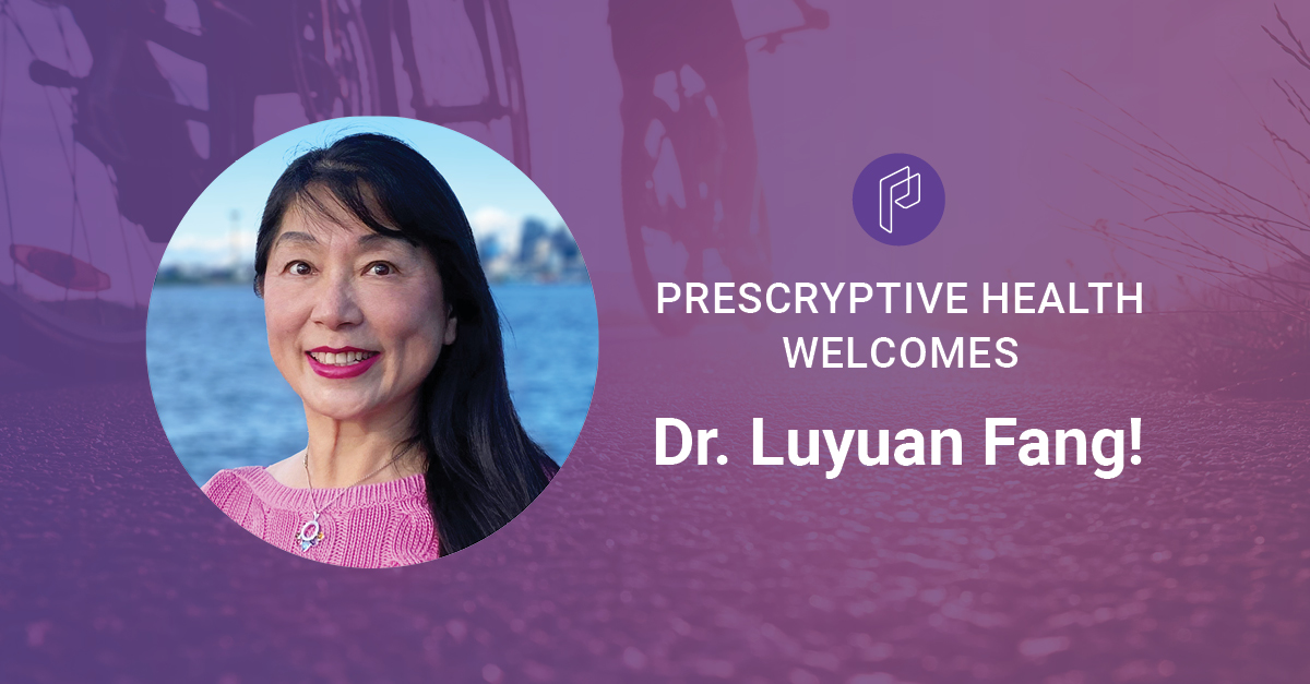 Prescryptive Health Welcomes Dr. Luyuan Fang as Chief AI and Data Officer